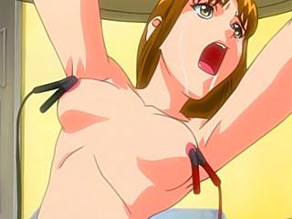 Pretty and sweet Yumie Takagi gets captured and fingered by Shinji Ikari's dick