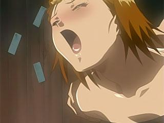 Hentai Harlot with jiggling titties getting stuffed