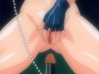 Ritsuko Akagi was slammed in her mouth in the doctors chair
