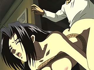Strict Fujiko Hinomoto rides Great Khan and gets cum blasted