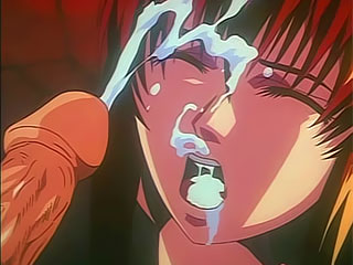 Luckless Bluehaired girl poked in wet cunt by Alucard and squirting juices
