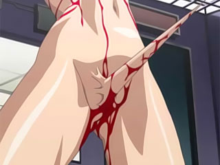 Anime Maid with nice melons was fucked by Woz the Whiz and gets creamy jizz