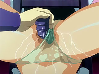 Anime Boss masturbating and getting hard penetrated with extreme desire by tough dick